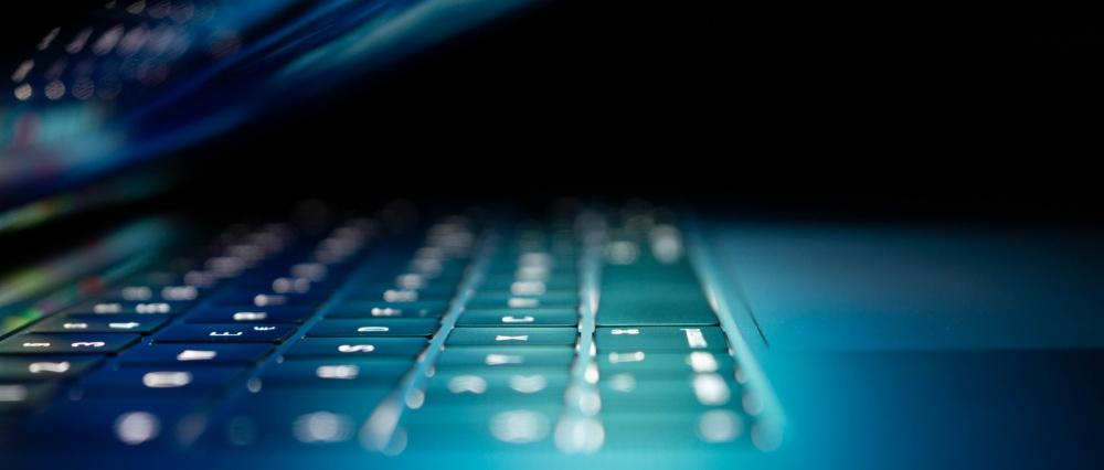 Paso 3 El mantenimiento de tu web. Teclado de portátil.