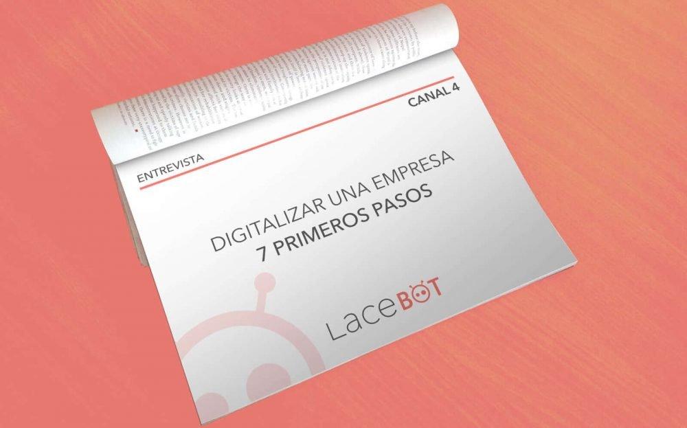 Entrevista Canal4: Digitalizar una empresa. 7 Primeros Pasos
